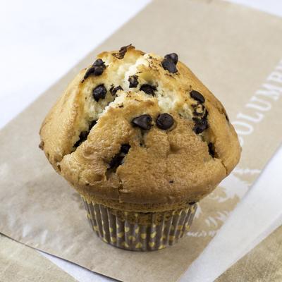 Muffin banane pépites chocolat