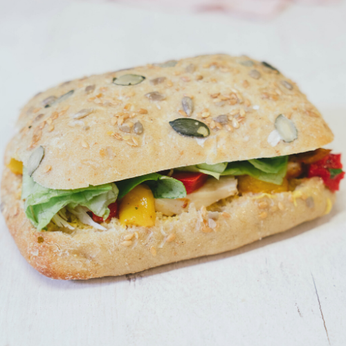 SANDWICH Poulet curry mango