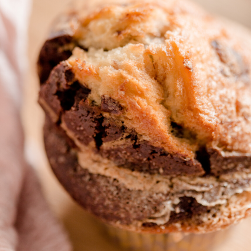 Muffin Marbré Choco Vanille