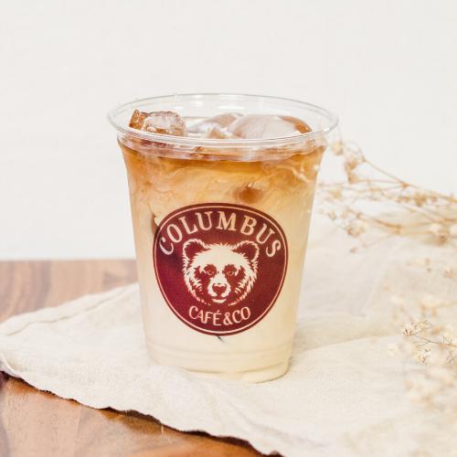 Café latte glacé classique