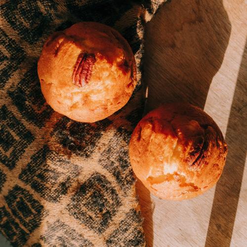 Muffin saison citron confit noix