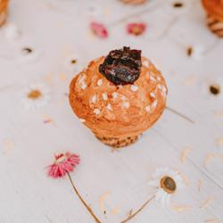 Image de Muffin vanille coeur cerise