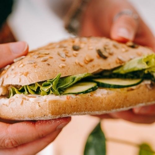 Sandwich Tartinade de Poisson